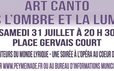 Concert d'Art Canto au vieux village